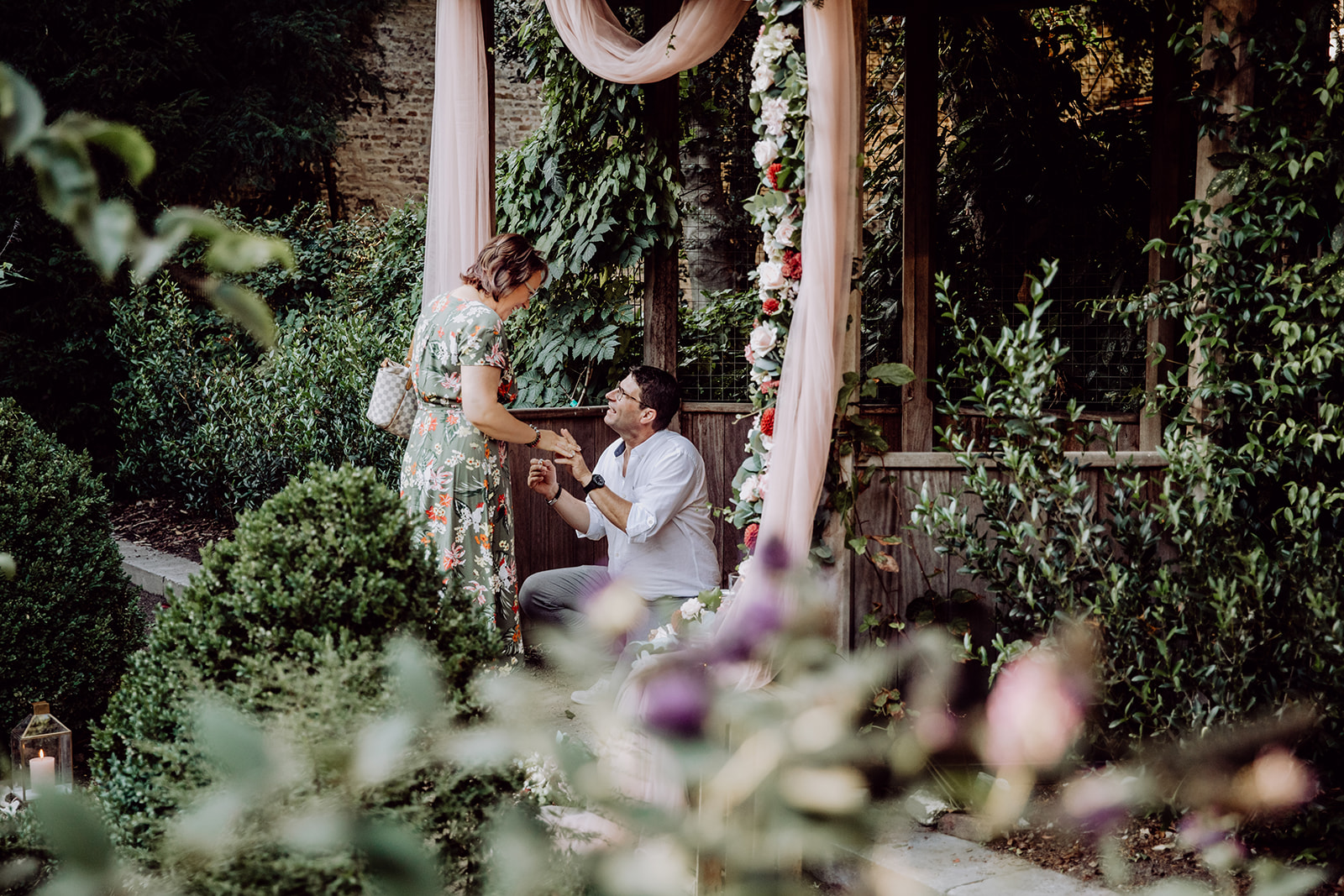 Huwelijksaanzoek georganiseerd in Brugge
